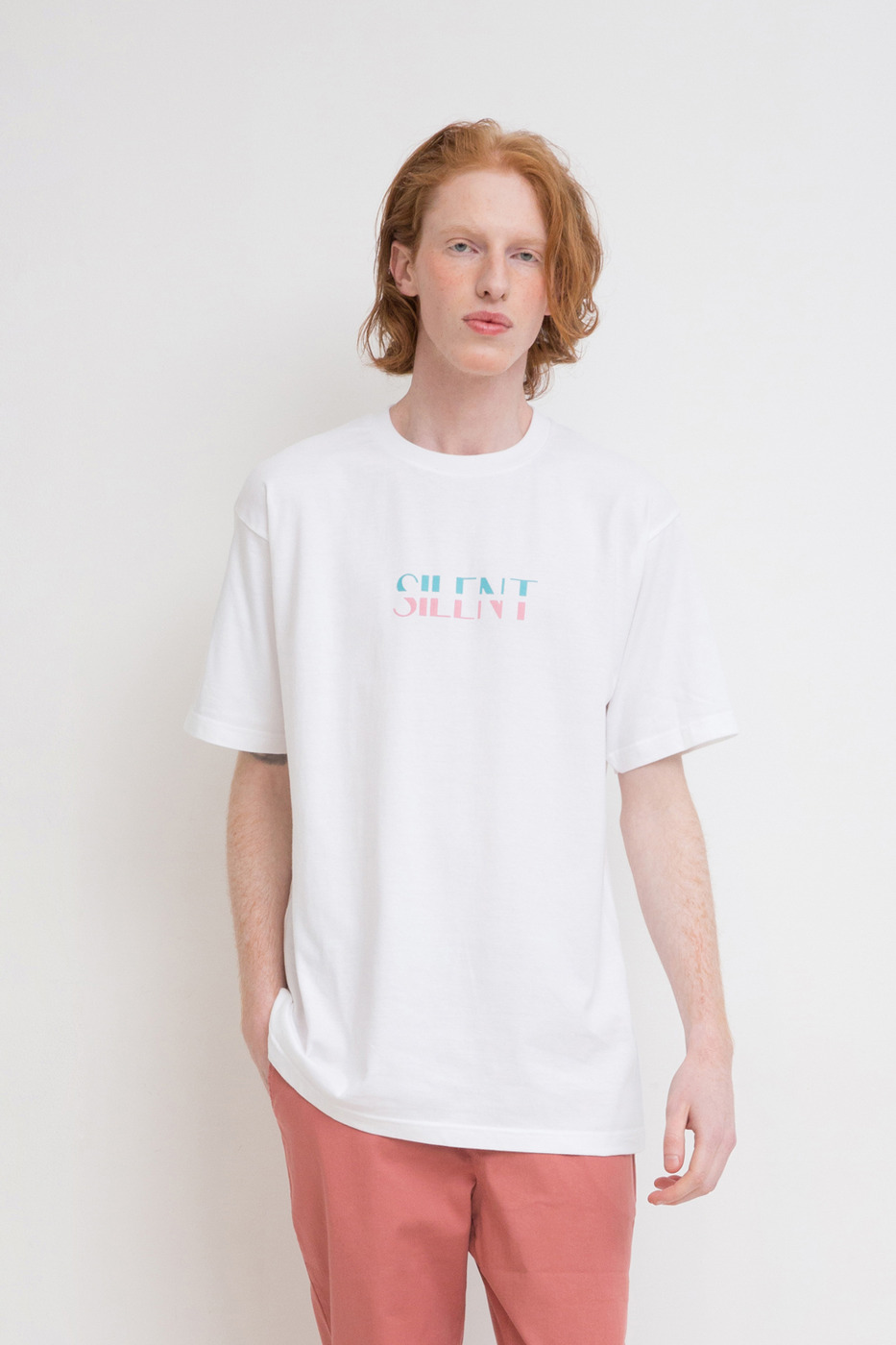 Essential Two-Tone Logo T-Shirt