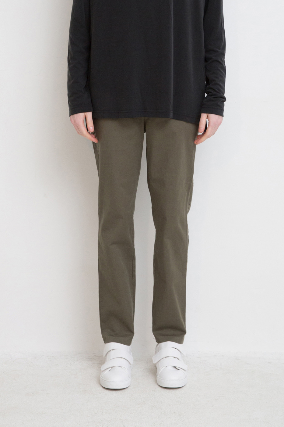 Tapered Drawstring Chinos