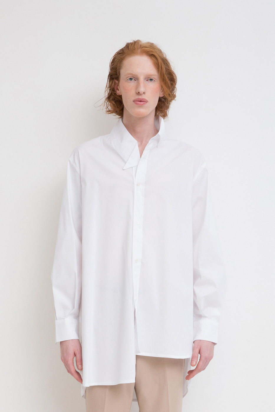 Asymmetric Oversized Shirt
